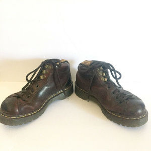 Dr Martens Air Wair 8287 Brown Ankle Boots Sz 5